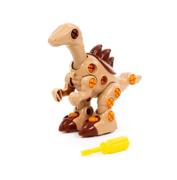 """Конструктор-динозавр """"Велоцираптор"""" (36 элементов) (в пакете). 76823"""