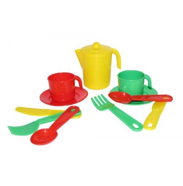 """Набор детской посуды """"Анюта"""" на 2 персоны. 3827"""