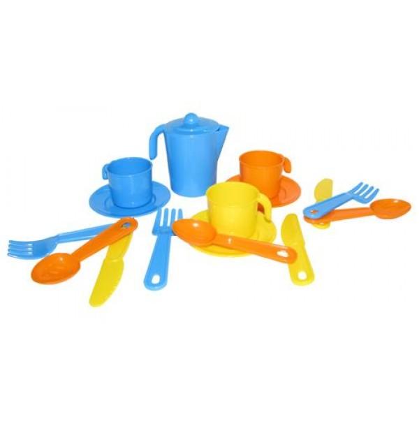 """Набор детской посуды """"Анюта"""" на 3 персоны. 3834"""