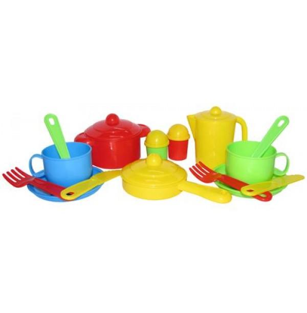 """Набор детской посуды """"Хозяюшка"""" на 2 персоны. 3988"""