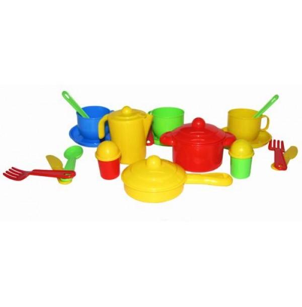 """Набор детской посуды """"Хозяюшка"""" на 3 персоны. 3995"""