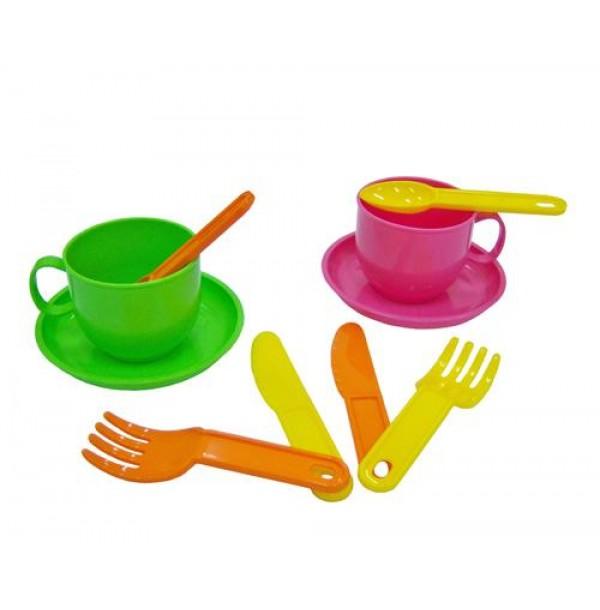 """Набор детской посуды """"Минутка"""" на 2 персоны. 9554"""