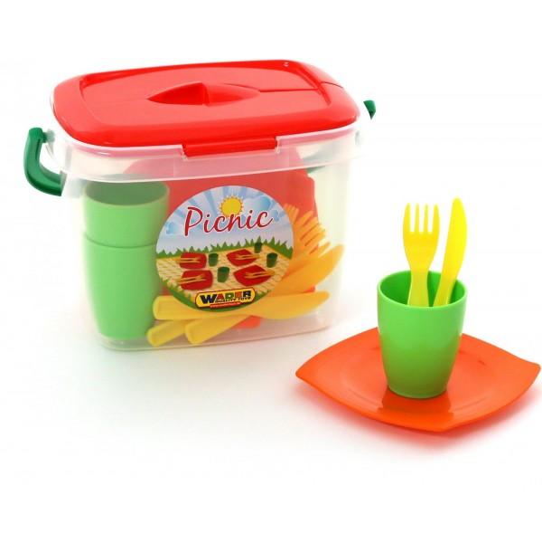 """Набор детской посуды """"Алиса"""" для пикника №1. 40756"""