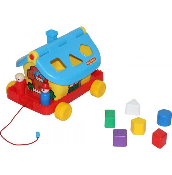 Садовый домик на колёсиках (в сеточке). 56443