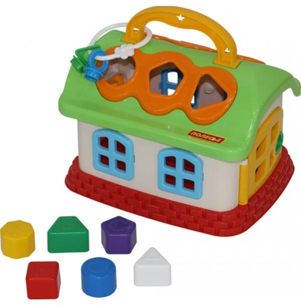 Сказочный домик (в сеточке). 48745