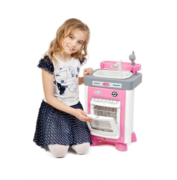 """Набор """"Carmen"""" №3 с посудомоечной машиной и мойкой (в пакете). 47946"""