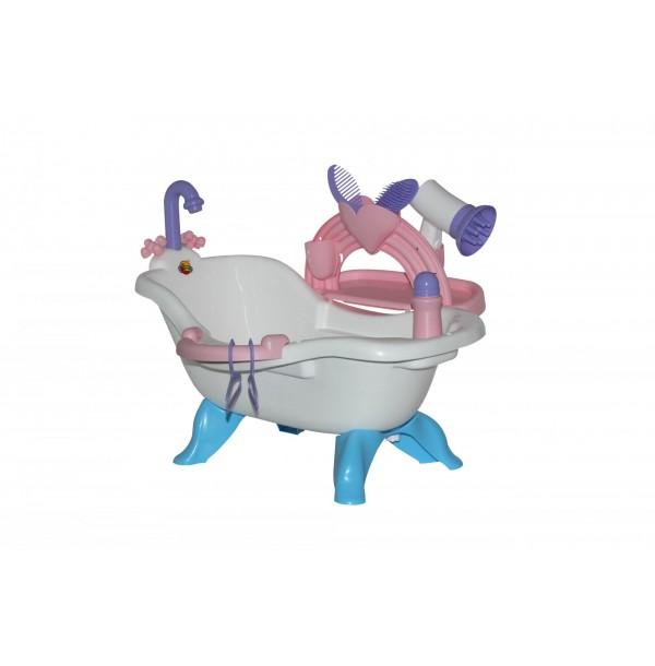 Набор для купания кукол №3 с аксессуарами (в пакете). 47267