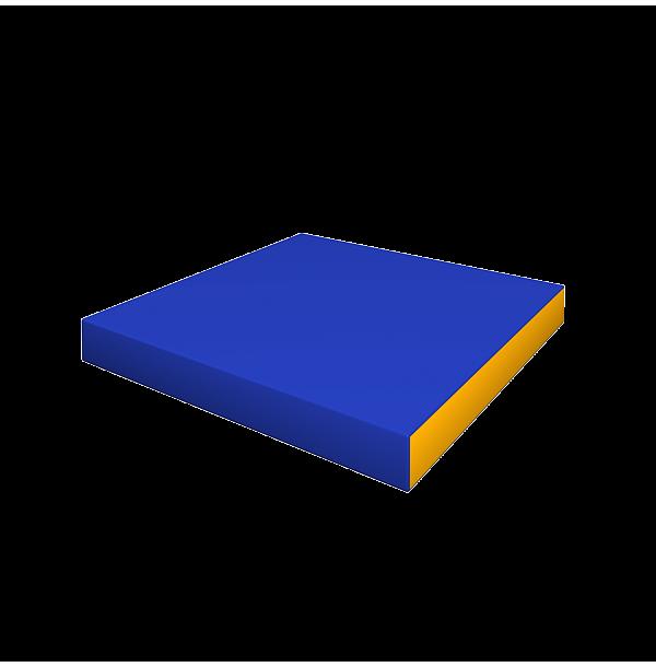 Элемент мягкой формы 850x850x100. ДМФ-ЭЛК-14.19.00