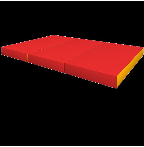 РОМАНА Мягкий щит pro (1000*1500*100), в 3 сложения. ДМФ-ЭЛК-14.21.00