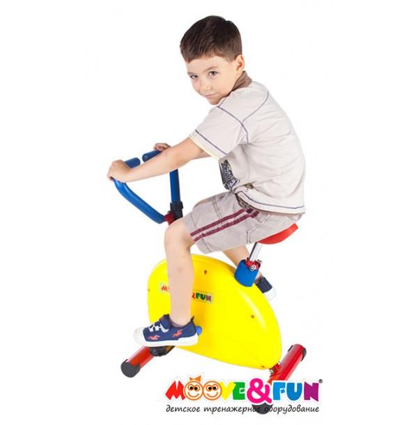 Тренажер детский механический Велотренажер Moove&Fun SH-02W