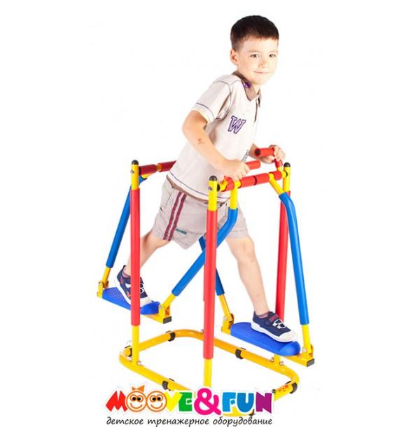 Тренажер детский механический Бегущая по волнам Moove&Fun SH-03