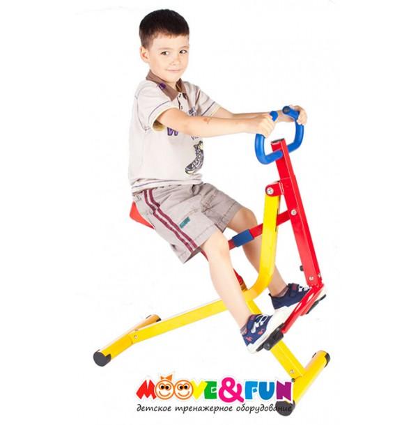 Тренажер детский механический Райдер Moove&Fun SH-08