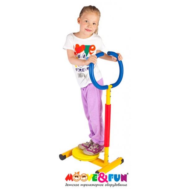 Тренажер детский механический Твистер с ручкой Moove&Fun SH-11