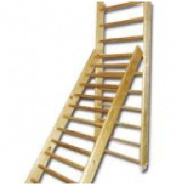 Лестница навесная с зацепами. 4902