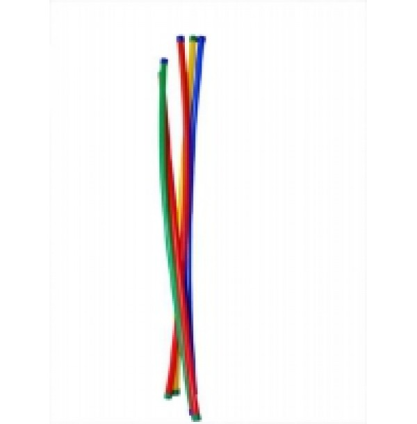 Палка гимнастическая 1000 мм (пластик). ЮП1019