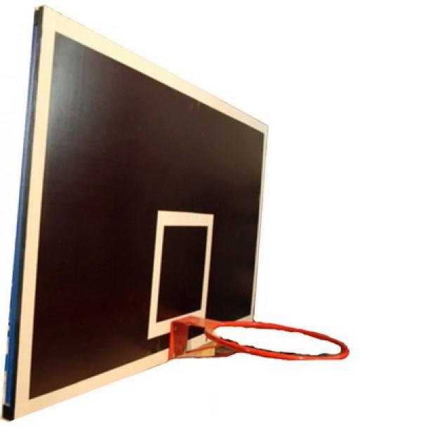 Щит баскетбольный навесной на швед.стенку 400х450мм ламинированная фанера. 4035