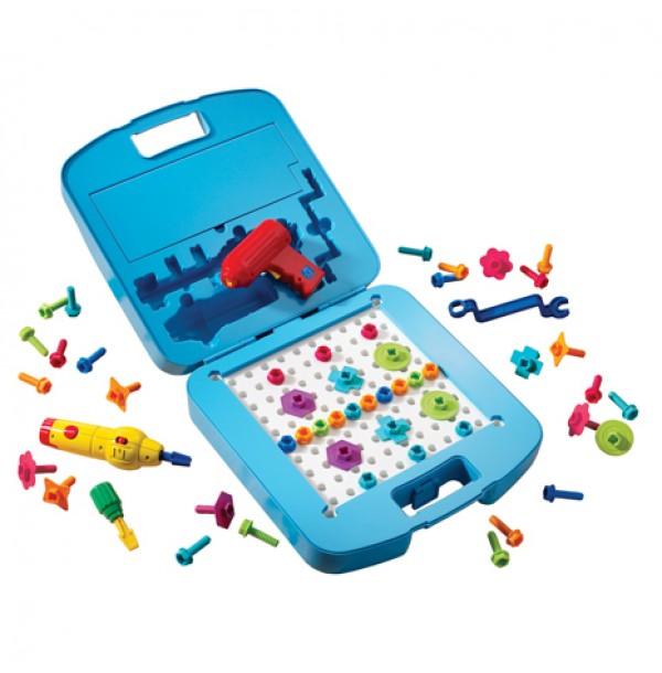 """Игровой набор """"Закручивай и учись. Большой чемоданчик"""" (125 элементов) EI-4115"""