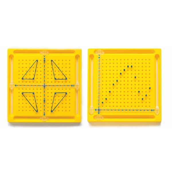 Геомозаика с осями X-Y ( комплект 5 шт.). 20701