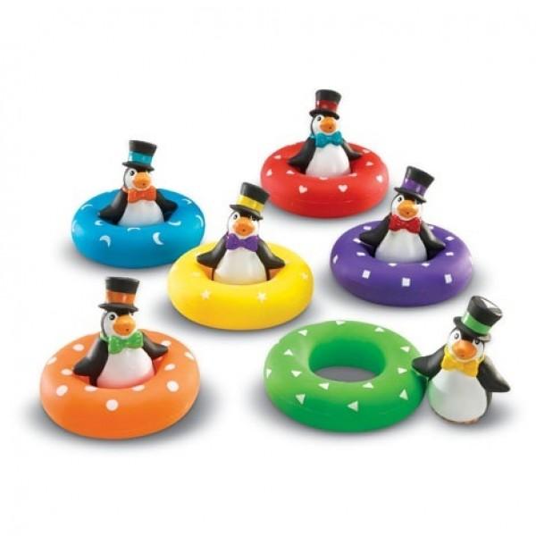 """Игра для центра воды и песка """"Цветные пингвины"""". LER 7308"""