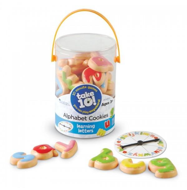 Собери 10! Печеньки Алфавит. LER9443-D