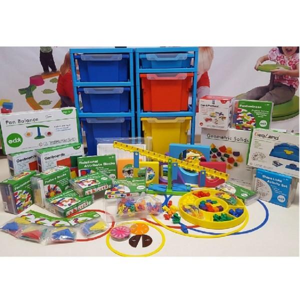 Образовательный комплект для дошкольников старшей/подготовительной группы (5-7 лет) «Увлекательная математика» SCSET2