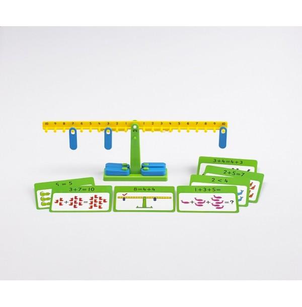 Весы математические с заданиями. 25897
