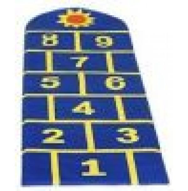 Детский игровой мат «Классики». Т76