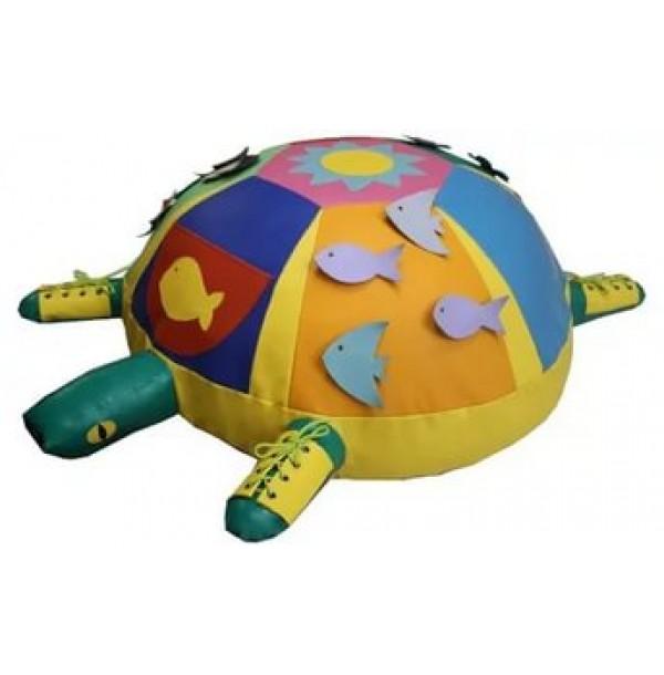 Детская Черепаха дидактическая со шнуровкой. Т37