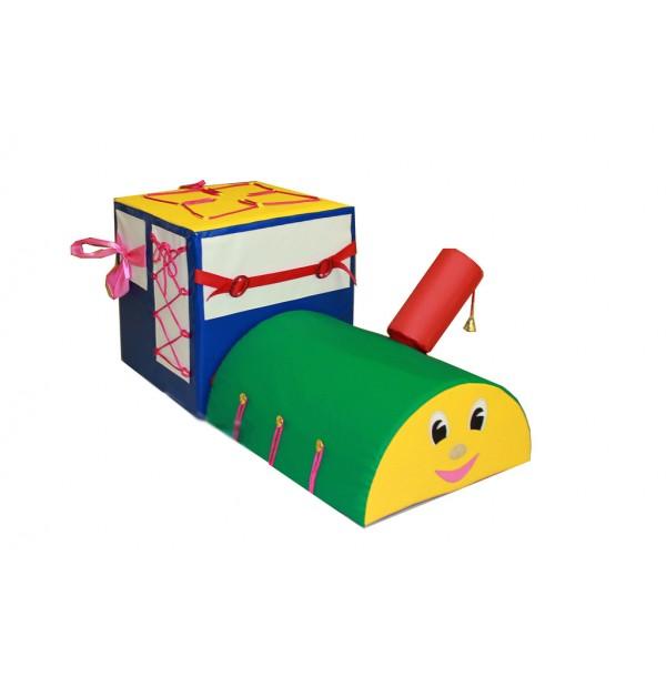 Детский дидактический паровоз. Т65