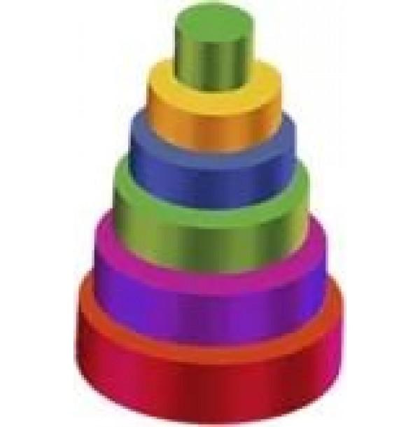 Детский игровой набор «Пирамида». Т11