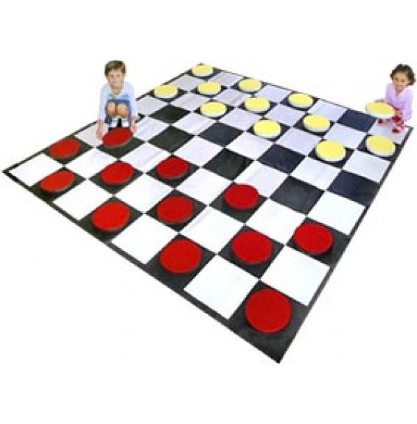 Детский игровой набор «Шашки». Т6
