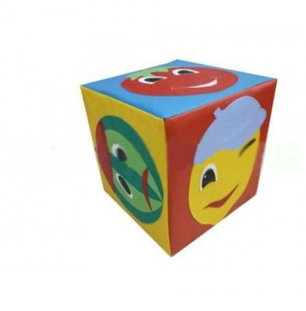 Детский дидактический кубик «Эмоции». Т70
