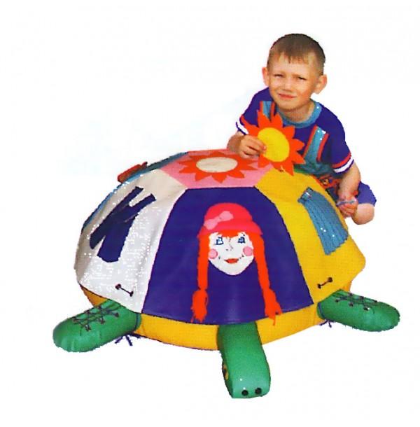 Детская Черепаха дидактическая со съёмными чехлами. Т36