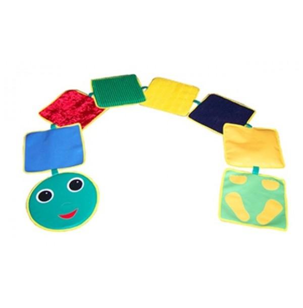 Детская игровая дорожка «Змейка-шагайка сенсорная». Т80