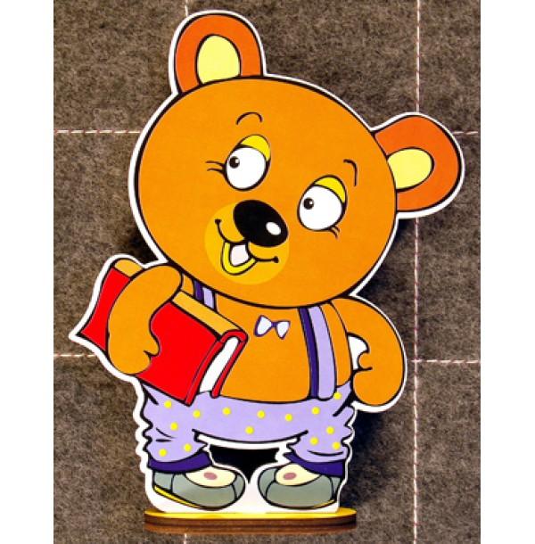 """Персонаж """"Медвежонок Мишик"""" (средний размер). ПС-013"""