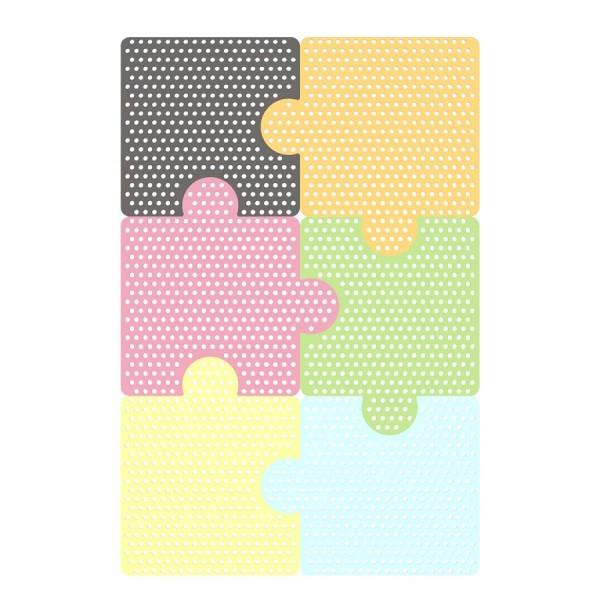 Настенная панель ‹‹Пазлы›› 6 шт.  НПП-002
