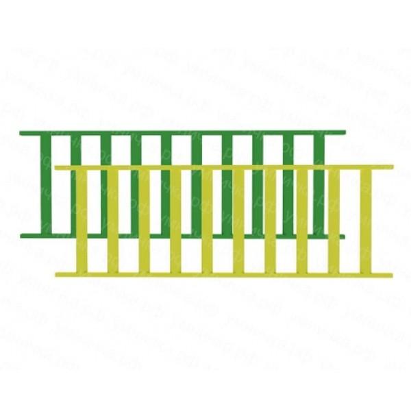 Металлический забор. МЗ-001